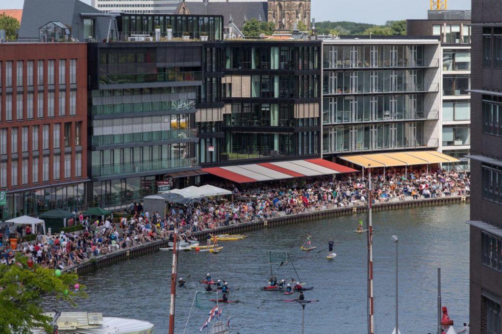 Der Hafen auf dem Hafenfest vor zwei Jahren